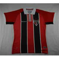 2015 Sao Paulo FC Away Red&Black Jersey Shirt