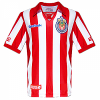 Chivas Guadalajara Soccer Jersey Home Retro Commemorative Replica 2007/08