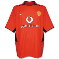 02-03 Manchester United Home Classic Retro Jersey Shirt