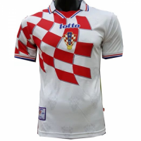 1998 Croatia Home Classic Retro Jersey Shirt