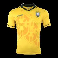 1993-1994 Brazil Home Yellow Classic Retro Jersey Shirt