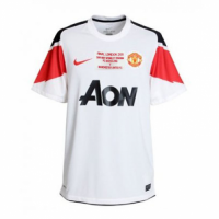 10-11 Manchester United Away Retro Jerseys Shirt