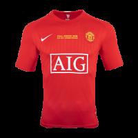 07-08 Manchester United Champion League Home Retro Jersey Shirt