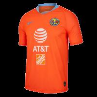 2019 Club America Third Away Orange Soccer Jerseys Shirt