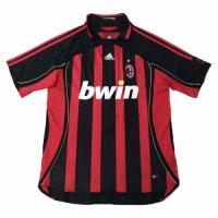 06-07 AC Milan Retro Home Red&Black Soccer Jersey Shirt