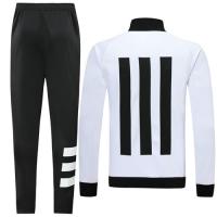 19/20 Juventus White High Neck Collar Player Version Training Kit(Jacket+Trouser)
