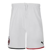 19/20 AC Milan Away White Soccer Jerseys Kit(Shirt+Short)