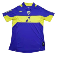2005 Boca Juniors Home Blue Retro Soccer Jerseys Shirt