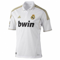 11-12 Real Madrid Home White Retro Jersey Shirt