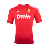 11-12 Real Madrid Third Away Red Retro Jersey Shirt