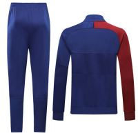 19/20 Barcelona Red&Blue High Neck Collar Training Kit(Jacket+Trouser)