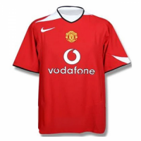 05-06 Manchester United Home Red Retro Jerseys Shirt