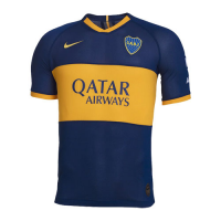 19/20 Boca Juniors Home Blue Soccer Jerseys Shirt(Player Version)