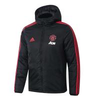 19/20 Manchester United Black Winter Training Jacket