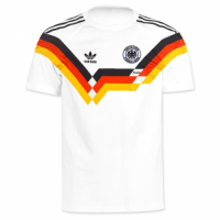 1990 West Germany Home Classic Retro Soccer Jersey Shirt