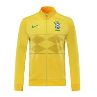 2021 Brazil Yellow Player Version Tranining Jacket
