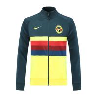 20/21 Club America Yellow High Neck Collar Training Jacket