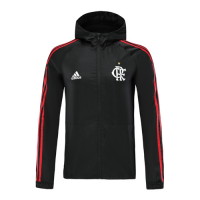 19/20 CR Flamengo Black Woven Windrunner