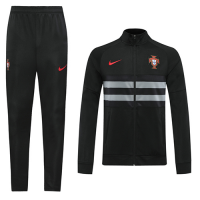 2020 Portugal Black Player Version Training Kit(Jacket+Trouser)