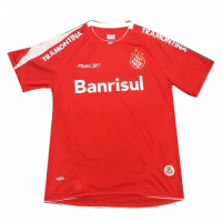 2006 SC Internacional Home Red Retro Soccer Jerseys Shirt