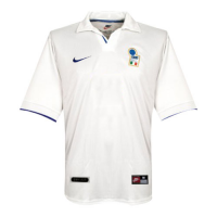 1998 World Cup Italy Away White Retro Soccer Jerseys Shirt