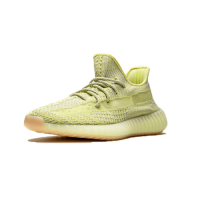 "Adidas Yeezy 350 V2 ""Antlia Reflective"" Cleat-Light Yellow"