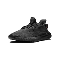 "Adidas Yeezy 350 V2 ""Black Static Reflective"" Cleat"