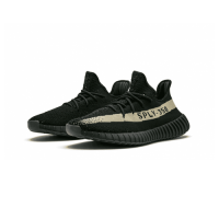 Adidas Yeezy 350 V2 Olive Green Cleat-Black