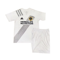 2020 La Galaxy Home White Children's Jerseys Kit(Shirt+Short)