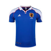 2000 Japan Home Blue Retro Soccer Jerseys Shirt