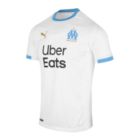 20/21 Marseille Home White Jerseys Shirt