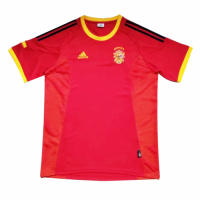 2002 Spain Home Retro Soccer Jerseys Shirt
