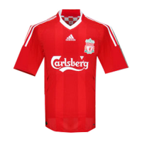 08/09 Liverpool Home Red Retro Jerseys Shirt