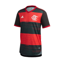 20/21 CR Flamengo Home Red&Black Soccer Jerseys Shirt