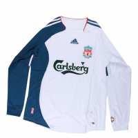 06/07 Liverpool Third Away White Retro Long Sleeves Jerseys Shirt