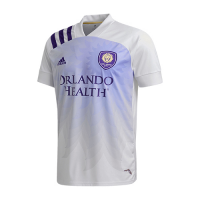 2020 Orlando City Away White Soccer Jerseys Shirt