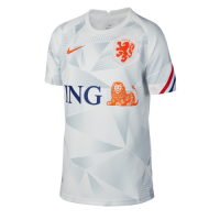 2020 Netherlands White Training Jerseys Shirt