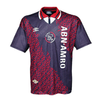 94/95 Ajax Away Purple Retro Soccer Jerseys Shirt