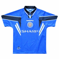 96/97 Manchester United Third Away Blue Retro Jerseys Shirt