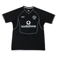 00-01 Manchester United Goalkeeper Black Retro Jerseys Shirt