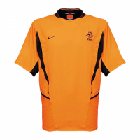 Netherlands Retro Soccer Jersey Home Replica World Cup 2002