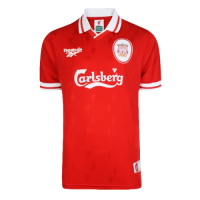 96/97 Liverpool Home Red Retro Soccer Jerseys Shirt