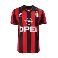 96/97 AC Milan Home Red Retro Soccer Jerseys Shirt