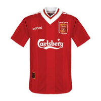 95/96 Liverpool Home Red Retro Soccer Jerseys Shirt