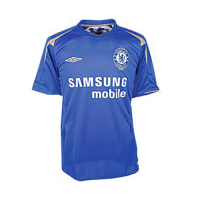 05/06 Chelsea Home Blue Retro Jerseys Shirt