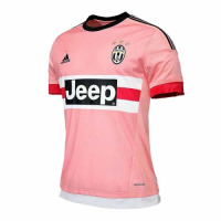 15/16 Juventus Away Pink Soccer Retro Jerseys Shirt
