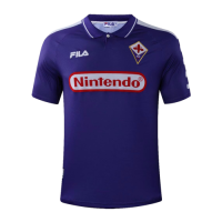 Fiorentina Retro Soccer Jersey Home Replica 1998/99