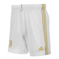 20/21 Juventus Home White Soccer Jerseys Short
