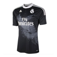 14/15 Real Madrid Away Black Retro Jerseys Shirt