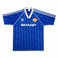 86/88 Manchester United Third Away Retro Jerseys Shirt